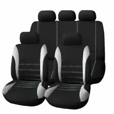 9Pcs Full Car Styling Seat Cover for Sedans Auto Interior Accessories (AU Stock)