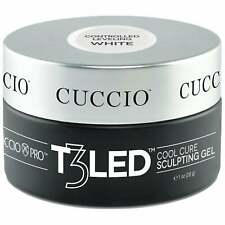 Cuccio T3 LED/UV Cool Cure Versatility Gel - Controlled Levelling White 28g