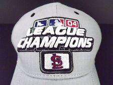 St. Louis Cardinals MLB 2004 League Champions New Era Baseball Cap Gray One Size