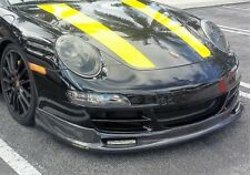Porsche 911 997 H style Carbon Fiber Lower Lip Spoiler 2005 to 2008
