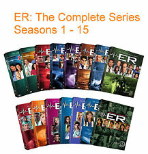 ER The Complete Series Seasons 1 2 3 4 5 6 7 8 9 10 11 12 13 14 15 DVD Set | NEW