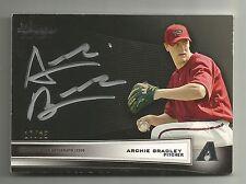 2012 Bowman Black Archie Bradley Auto Autograph 17/25 Arizona Diamondbacks Rare