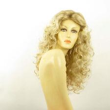 Perruque femme longue blond méché blond très clair GAETANE 15t613