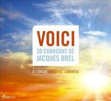 Voici: 30 Chansons de Jacques Brel Super Audio Hybrid CD (CD, Sep-2013, 2 Discs…
