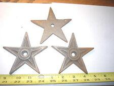 New listing 15 - 4'' Cast Iron Star Stars Home , Garden , Wall , Barn Fence Craft Display