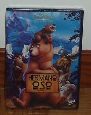 BROTHER BEAR - DVD - CLASSIC DISNEY Nº45 - NEW - SEALED (UNOPENED) R2