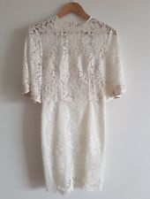 Lover the label | Halo mini dress | white lace | size 8-10