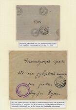 Russia/Estonia. 1916. WWI. Military cover sent to Finland