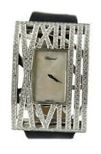 Chopard Montres Dame XL Diamond 18K White Gold Watch 127130