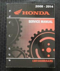 2008-2014 HONDA 1000 CBR1000 RR RA RS MOTORCYCLE SERVICE REPAIR MANUAL NICE BOOK
