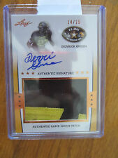 2013 LEAF ARMY ALL-AM BOWL DERRICK GREEN AUTO/SICK PATCH /25! MICHIGAN!!