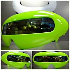SPACE ROBOT CYCLOPS FUTURISTIC Style COSTUME PARTY SUN GLASSES Neon Green Frame