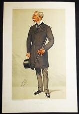 """Senior Equerry"" Major-General Charles Taylor Du Plat Vanity Fair 1891 Ward VG+"