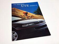 1997 Holden Ute Series II Brochure - Australia