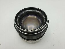 Minolta 58mm F1.4 MC Rokkor-PF Prime Lens for MD Mount SLR Cameras *Read*