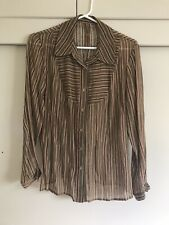 Asian Chinese Women Top S Button Up  Sleeves Ethnic Tv Film Wardrobe