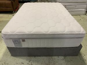 Sealy Catania Latex 2600 Mattress 7 Zoned SOFT 5Ft King size Box Top RRP £1503
