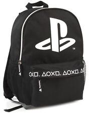 """Sony Playstation Logo Black Stylish Gamer Backpack 16 """""""
