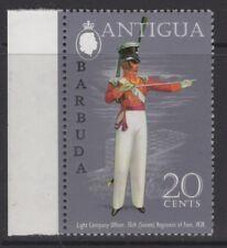 Barbuda SG123bw 1973 20 C uniformes Ovpt T30a WMK couronne à droite de CA neuf sans charnière