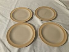 """4 Eva Zeisel Stratoware Universal 6 1/2"""" Bread Plates"""
