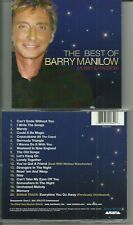 BARRY MANILOW - MUSIC AND PASSION CD / BEST OF + UNRELEASED TRACK / NEAR MINT