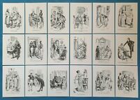 NEW Set of 18 A6 Postcards Illustrations from Pride and Prejudice Jane Austen