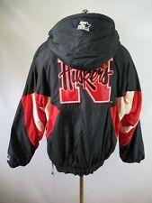 E4254 VTG STARTER Nebraska Cornhuskers NCAA Pullover Hooded Jacket Size L
