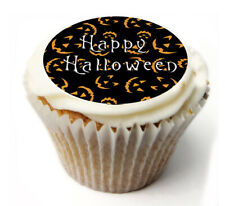 Cupcake Toppers Halloween personalised Rice paper Icing sheet 853