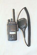 Motorola XPR3500 AAH02RDH9JA2AN Two Way Radio W/ Mic