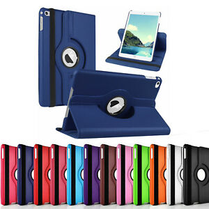 360 Rotating Case for Apple iPad Mini 5 4 3 2 Luxury Leather Stand Cover