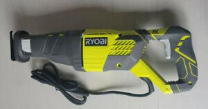 RYOBI 12 Amp Corded Reciprocating Saw RJ186V *Used*