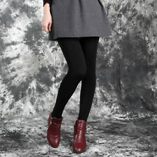 Women Winter Thick Warm Leggings Stockings Skinny Pants Footless Slim Stretch XP