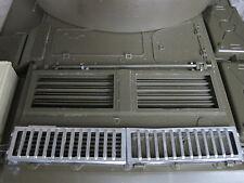 T55 RC Carro armato Tank griglia motore Coperchio del motore rimodellamento decorazione accessori in metallo 1/16