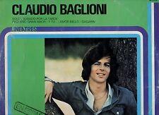 CLAUDIO BAGLIONI in SPAGNOLO disco LP 33 giri LINEATRES made in SPAIN 1978