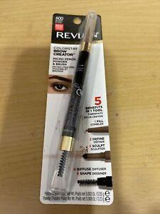Revlon Colorstay Brow Creator Micro Pencil Powder & Brush #600 BLONDE