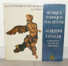 Ensemble Pro Musica Paris VIVALDI ALBINONI Baroque LP VINYLE 33 Tours AFA 20783