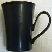 LARGE   DENBY  BLACK    MUG   Stands  4 1/2  inches high  and  holds 12 ounces