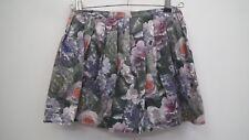 Top Shop Floral Short Skirt size 8