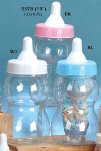 Jumbo Large Bottle Baby Shower Nursery Party Favor Decoration Plastic Piggy Bank