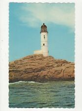 Isles Of Shoals Lighthouse White Island Mass. Old Postcard USA 403a ^