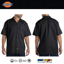 Dickies Men's Work Shirt Black Regular Large 1574bk L