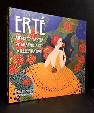 ERTÉ - ART DECO MASTER of GRAPHIC ART & ILLUSTRATION by ROSALIND ORMISTON