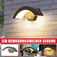 LED Außenleuchte Wandleuchte Außenlampe Wandlampe IP54 mit Bewegungsmelder