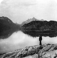 Rare Stereoview - LOFOTEN ISLANDS NORWAY 1900