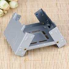Portable Cooking Foldable Mini Spirit Solid Alcohol Burner Wax Stove Camping BBQ