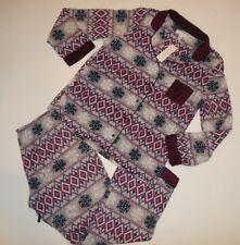 CAROLE HOCHMAN 2 pc Micro Fleece PAJAMAS Set PANTS Top womens Size XL Rt NEW