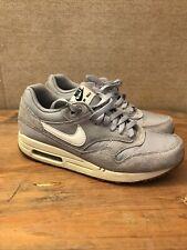New listing Nike Air Max 1 Grey White Mens 8.5, 8 1/2 537383-015