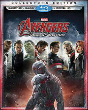 Avengers: Age of Ultron (Blu-ray/3D, 2015)