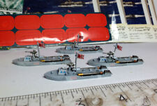 Cruel Seas Warlord Japanese T-14 class MBTs 1/300. Painted. x4 w/cards