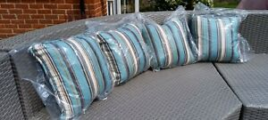 Outdoor Striped cushions set of 4